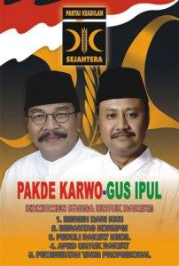 Pakde Karwo dan Gus Ipul