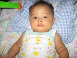 Nadia Umur 4 Bulan