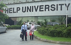 Kerjasama dengan Help University Malaysia