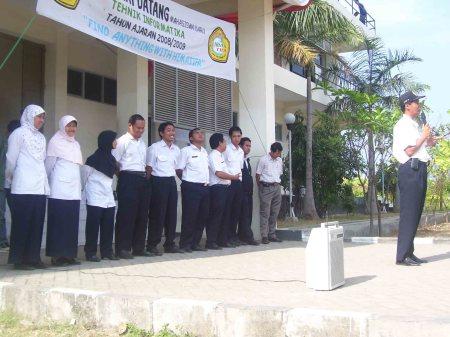 Upacara Penyambutan Maba 2008