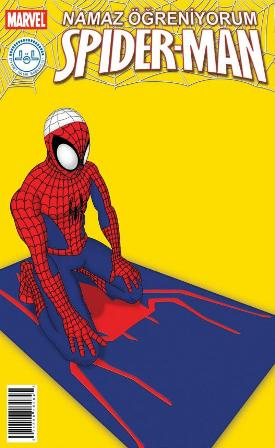 Spiderman Sholat