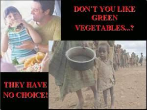 Kelaparan, Antri Mendapat Makanan