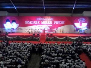 Pelantikan Tim Pemenangan Prabowo-Hatta Jawa Timur